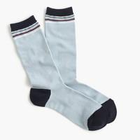 Trouser socks in vintage stripe