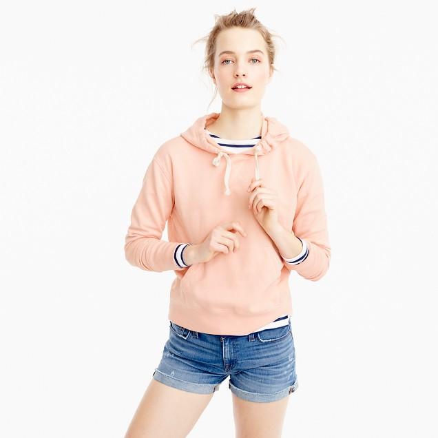 Soft peach hoodie