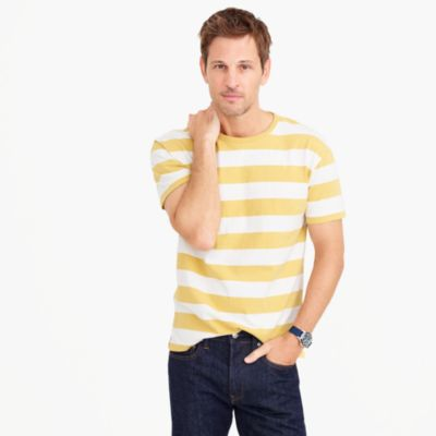 Cotton T-shirt in stripe