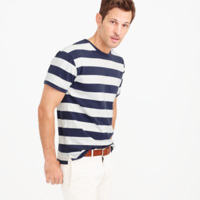 Cotton T-shirt in stripe
