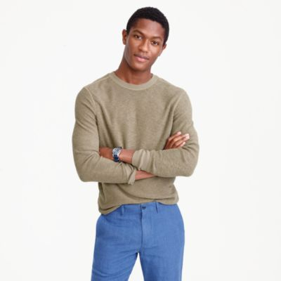 Wallace & Barnes French terry long-sleeve T-shirt