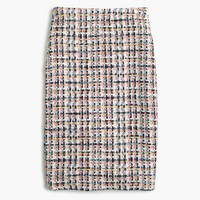Collection pencil skirt in French tweed