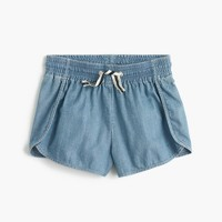 Girls' athletic short