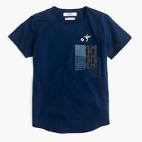 FDMTL™ indigo-dyed boro T-shirt