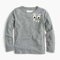 Boys' long-sleeve glow-in-the-dark Max the Monster T-shirt in the softest jersey