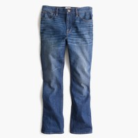 Billie demi-boot crop jean in Parkgate wash
