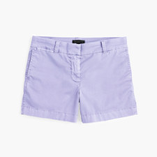 "4"" stretch chino short - ICED LAVENDER"