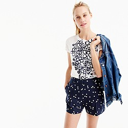 Pre-order High-waisted polka-dot short