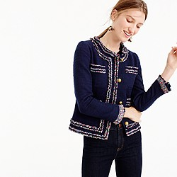 Petite lady jacket with Liberty® trim