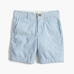 Boys' Stanton short in seersucker