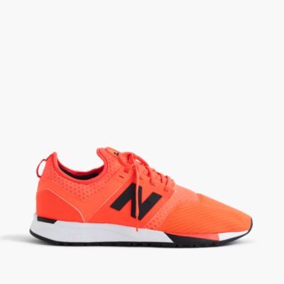New Balance® 247 Sport sneakers in orange