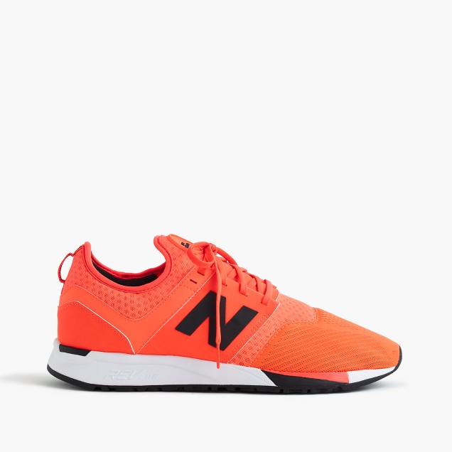 New Balance® 247 Sport sneakers in orange