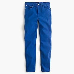 """Petite 9"""" lookout high-rise garment-dyed crop jean"""