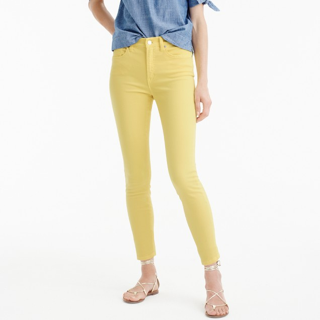 "Tall 9"" lookout high-rise garment-dyed crop jean"