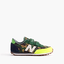 Pre-order Kids' New Balance for crewcuts 410 velcro sneakers