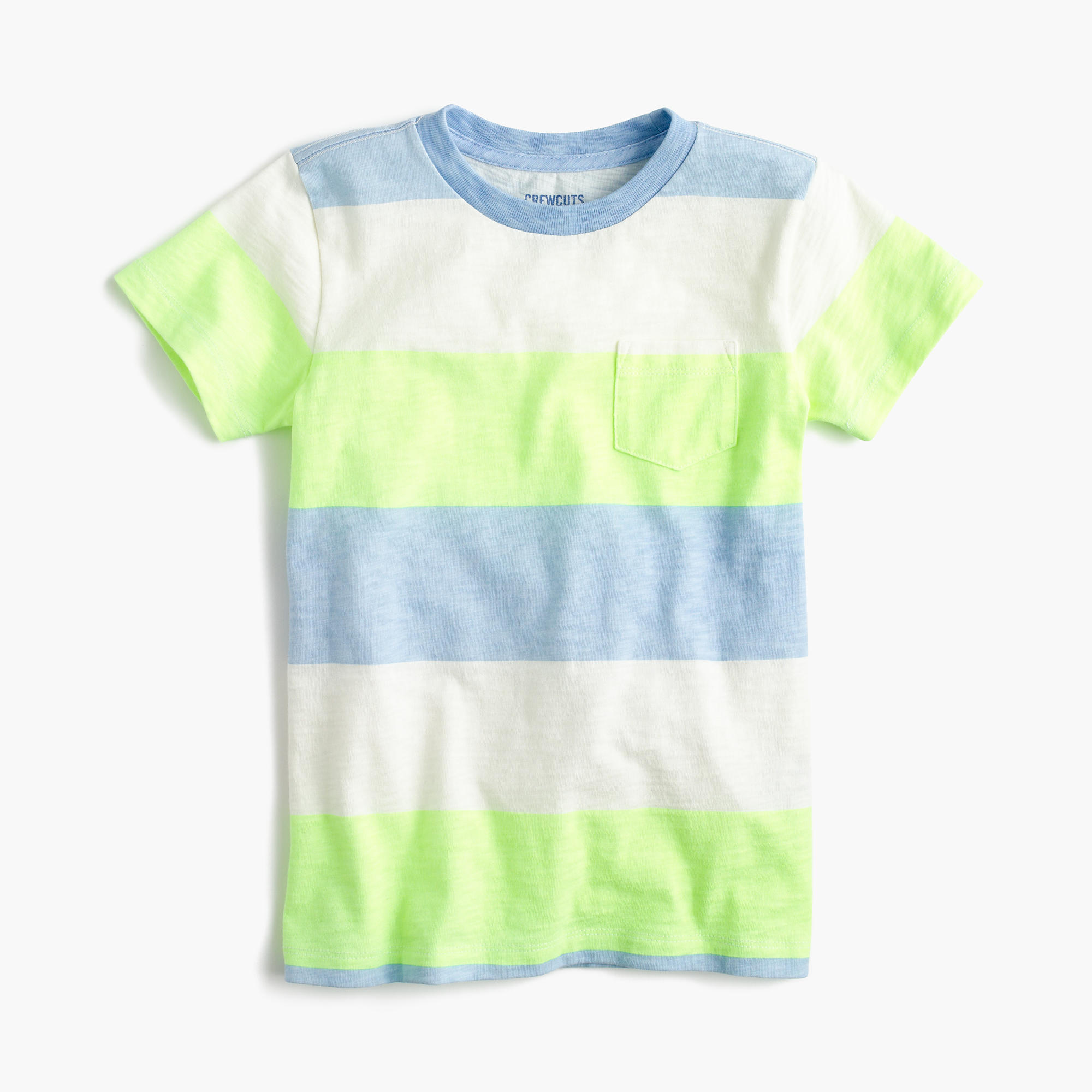 Boys 39 pocket t shirt in faded stripe boy stripes for Faded color t shirts