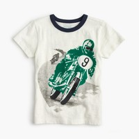 Boys' motorcycle race T-shirt