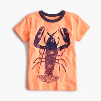 Boys' bandana-print lobster T-shirt