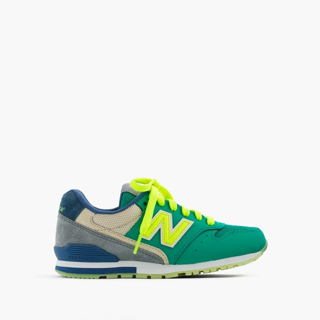 Kids' New Balance® for crewcuts glow-in-the-dark 996 lace-up sneakers