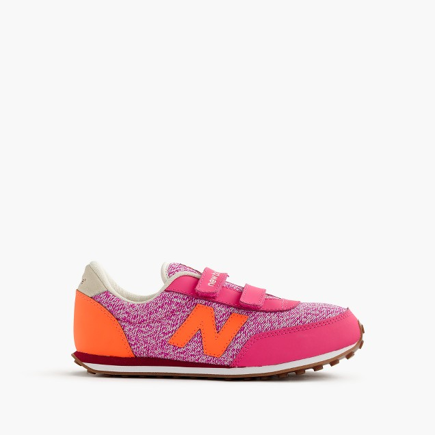 Kids' New Balance for crewcuts 410 velcro sneakers