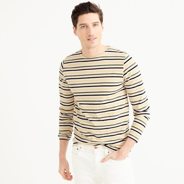 Norse Projects™ long-sleeve T-shirt in multistripe
