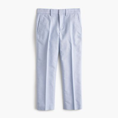 Boys' cotton oxford Bowery pant in slim fit