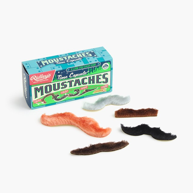 Kids' Ridley's® moustaches (pack of five)