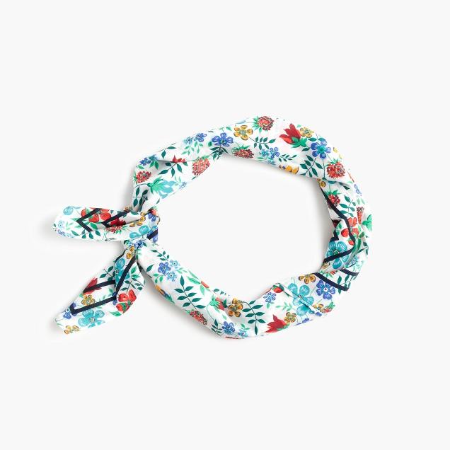 Bandana in Liberty® Edenham floral