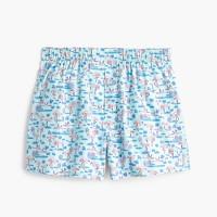 Flamingo print boxers