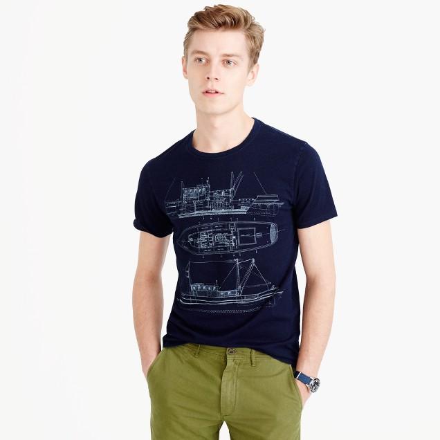 Wallace & Barnes boat T-shirt