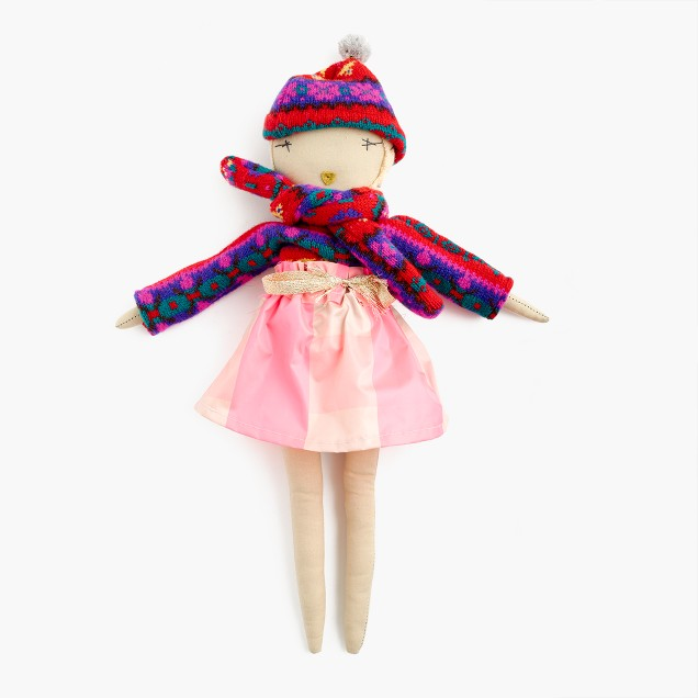 Kids' Jess Brown® for crewcuts doll in Fair Isle