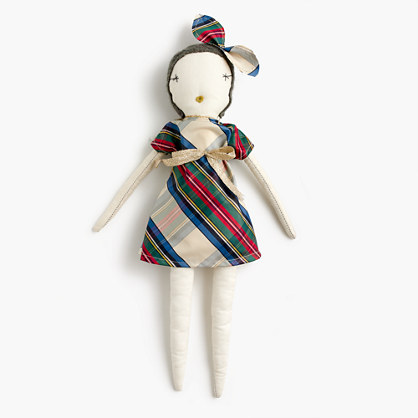 Kids' Jess Brown® for crewcuts doll in tartan