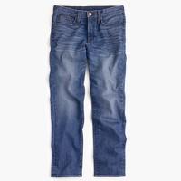 Vintage crop jean in Callie wash