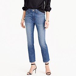 Tall vintage crop jean in Callie wash