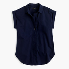 Short-sleeve popover - NAVY