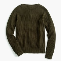 Wallace & Barnes textured cotton-linen sweater