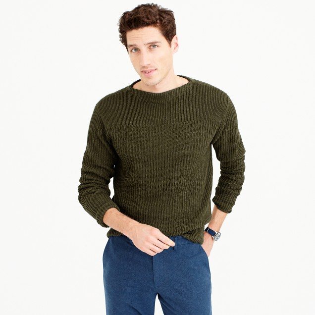 Wallace & Barnes textured cotton sweater