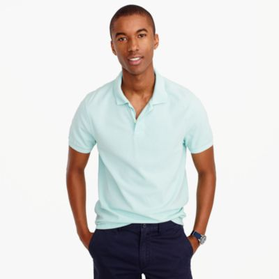 Tall sun-faded classic polo shirt