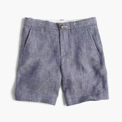 Boys' Stanton short in linen