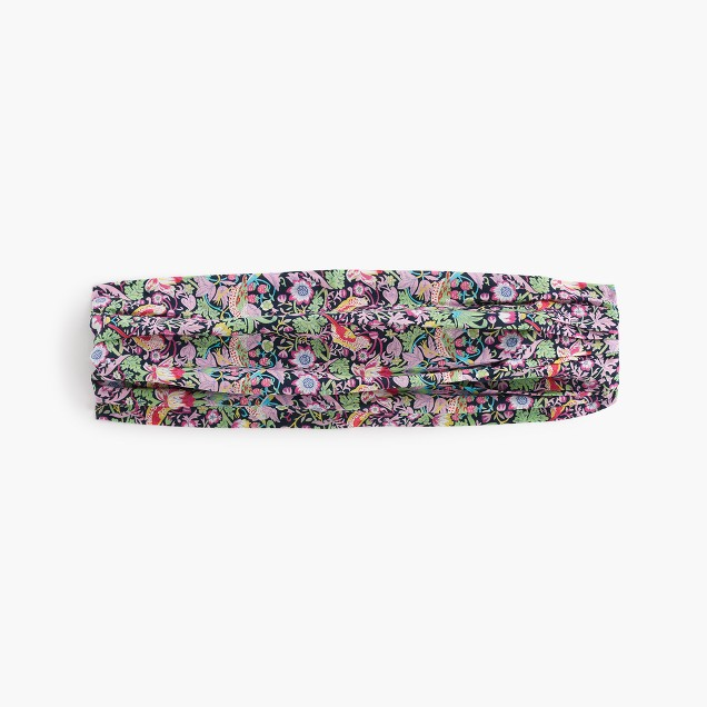 Liberty® Strawberry theif floral cotton headband
