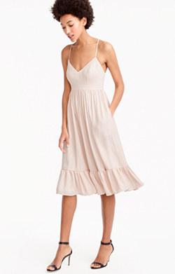 Pre-order Drapey spaghetti-strap dress