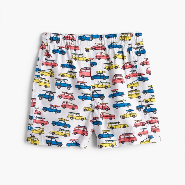 Boys' surf car boxers