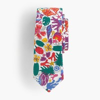 Boys' cotton tie in Liberty® floral