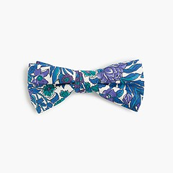 Boys' silk bow tie in Liberty® floral
