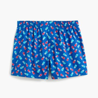 Popsicle print boxers