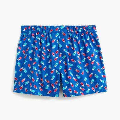 Popsicle print boxers