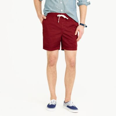 Dock short in stretch chino