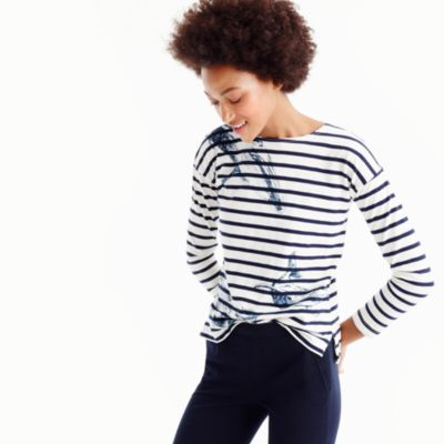 J.Crew for the Wildlife Conservation Society whale T-shirt