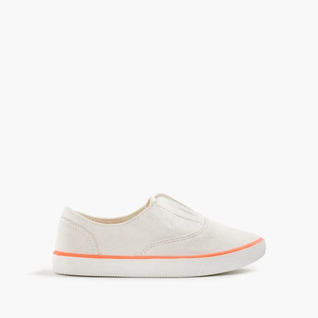 Girls' elastic slide sneaker