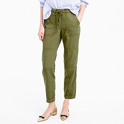 Petite pull-on cargo pant